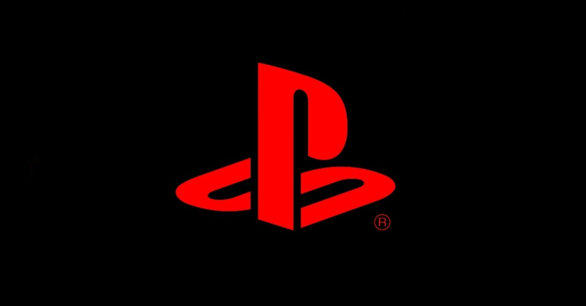 playstation red and black
