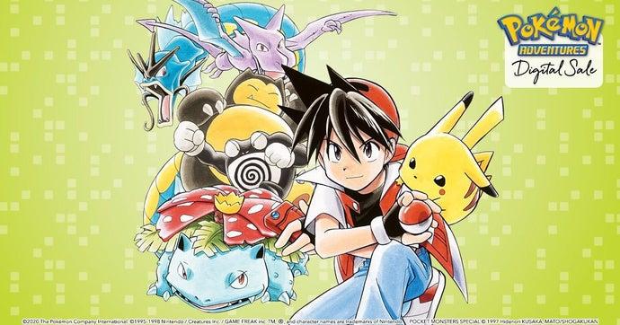 pokemon adventures manga