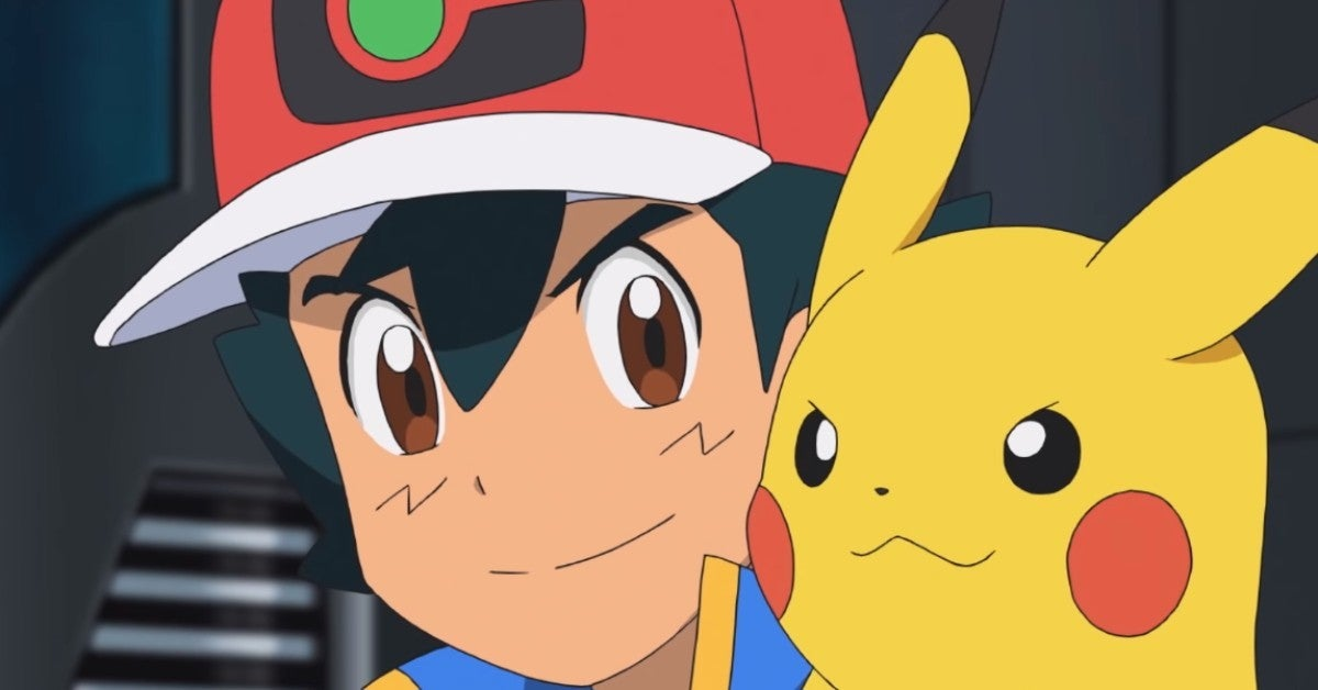 Pokemon Journeys Ash Pikachu Netflix Anime