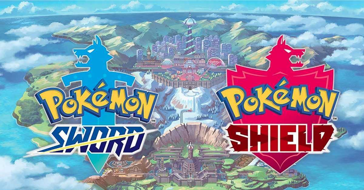 Pokemon Sword and Shield map