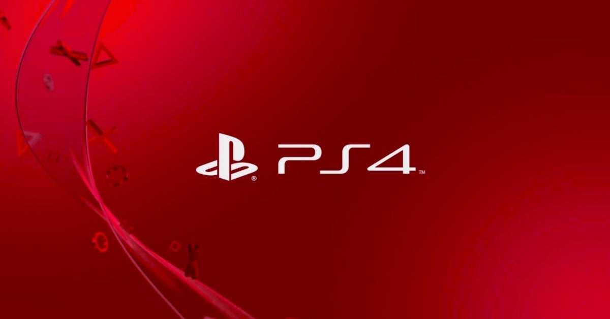ps4 logo red