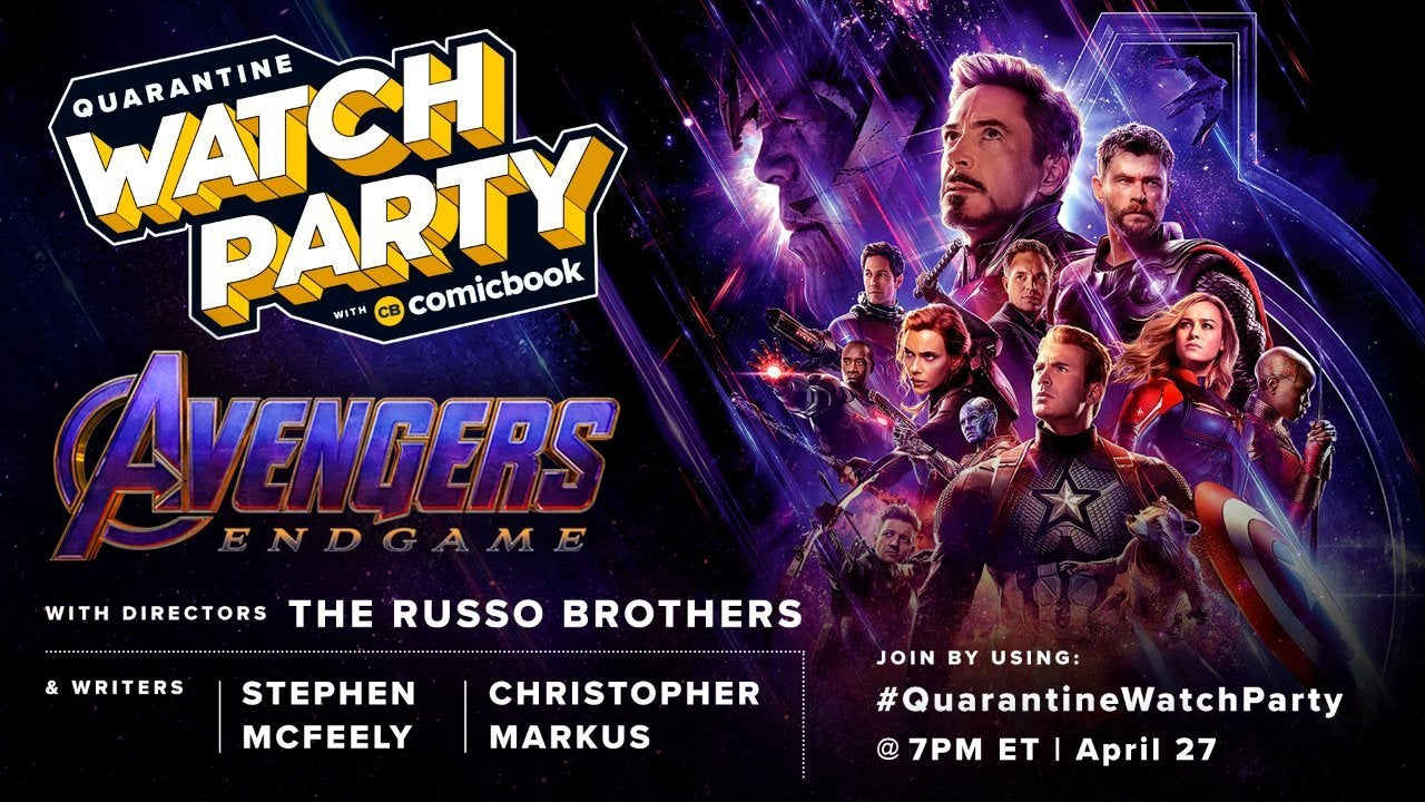quarantine-watch-party-avengers-endgame-russo-brothers-mcfeely-markus-comicbook