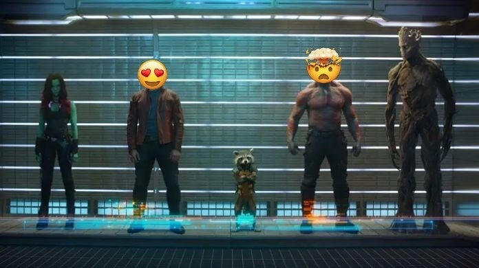 quarantine watch party tweets guardians of the galaxy