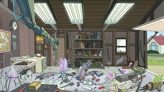 Rick and Morty Garage