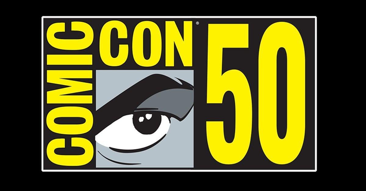 san diego comic con logo 50