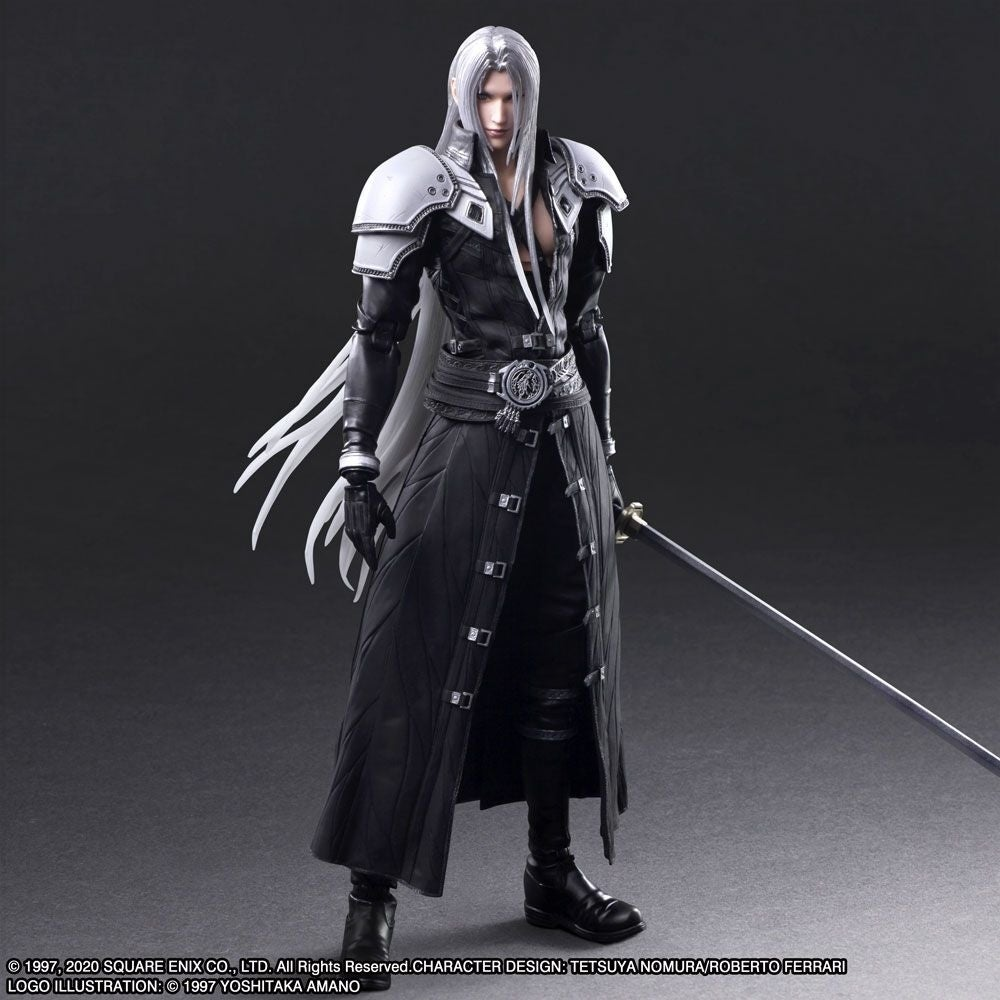 Final Fantasy 7 Remake Play Arts Figures Of Sephiroth Reno And Rude Are Available To Pre Order