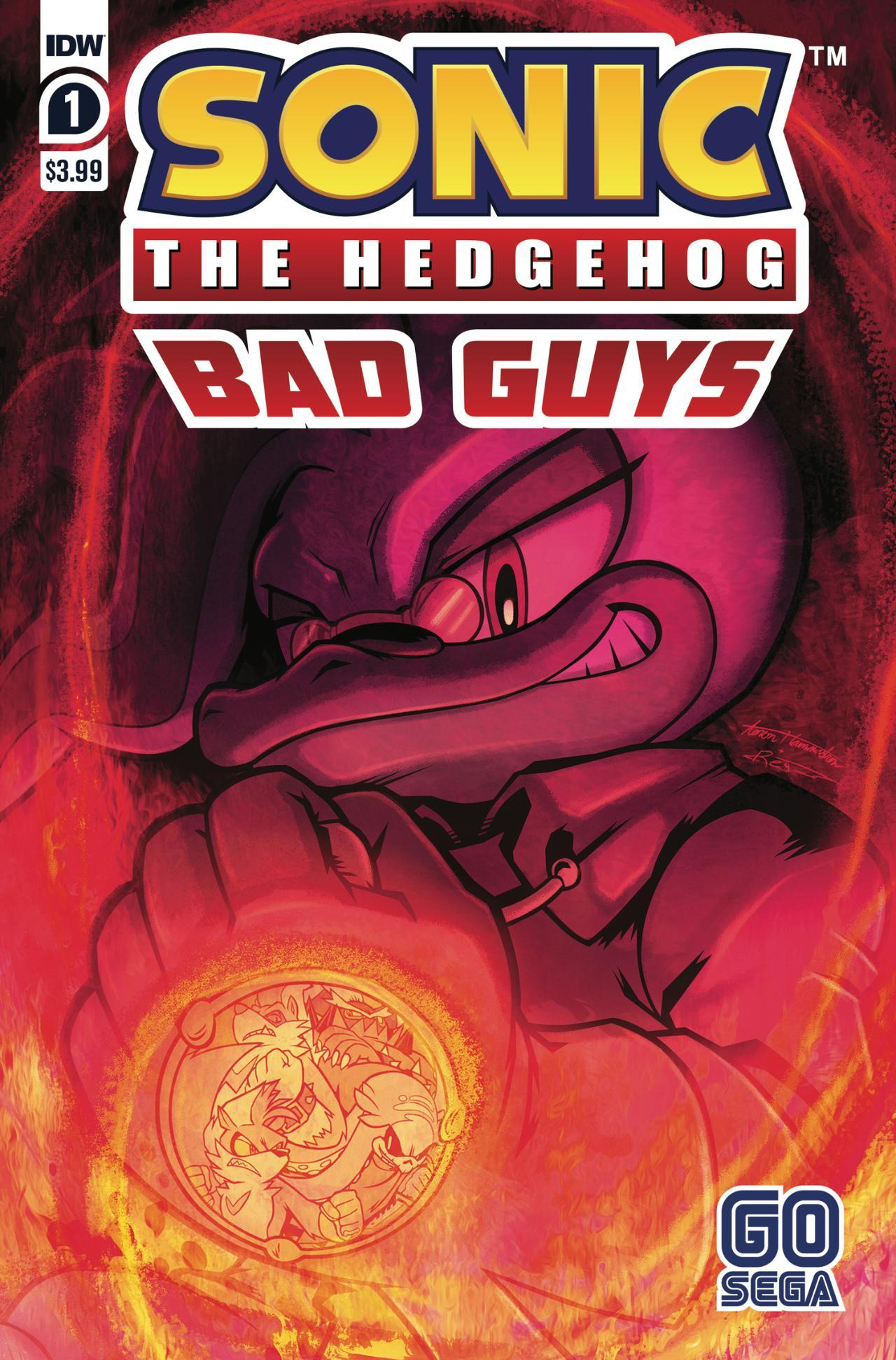 Sonic The Hedgehog - Bad Guys #1 - Cover A by Aaron Hammerstrom & Reggie Graham