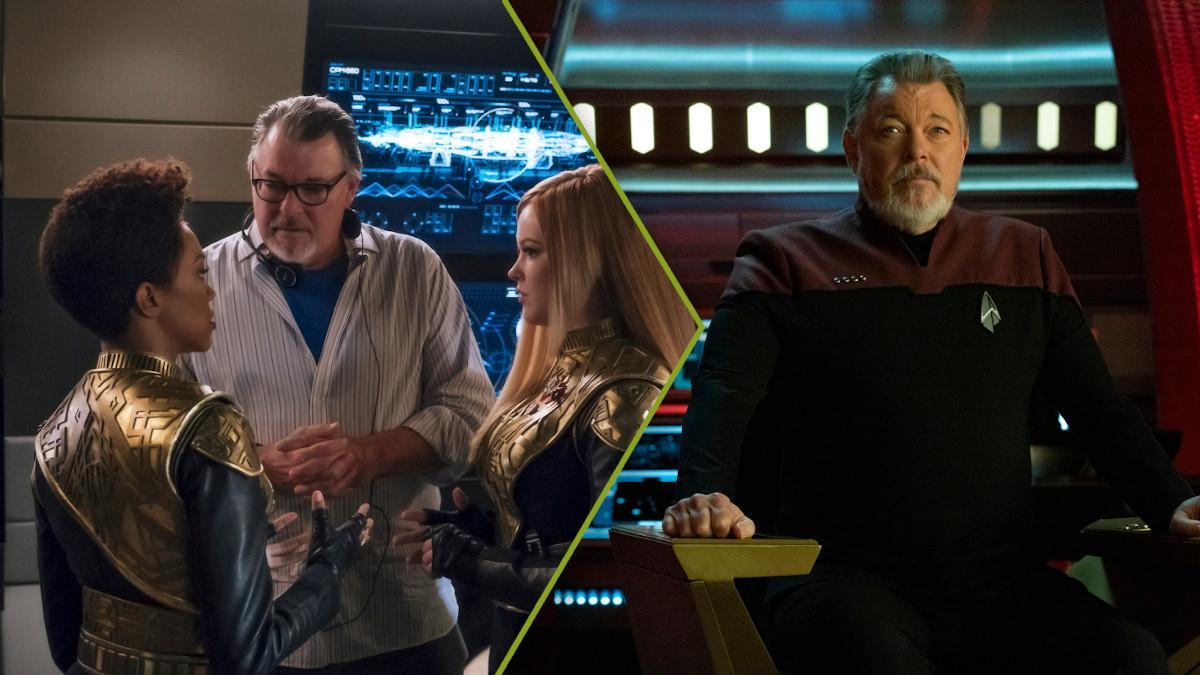 Star Trek Jonathan Frakes Interview Orville Marvel