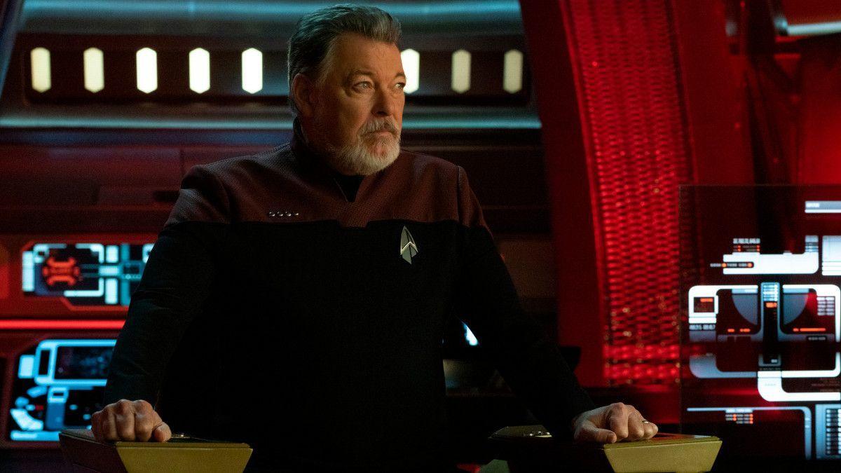 Star Trek Picard Finale Jonathan Frakes Will Riker
