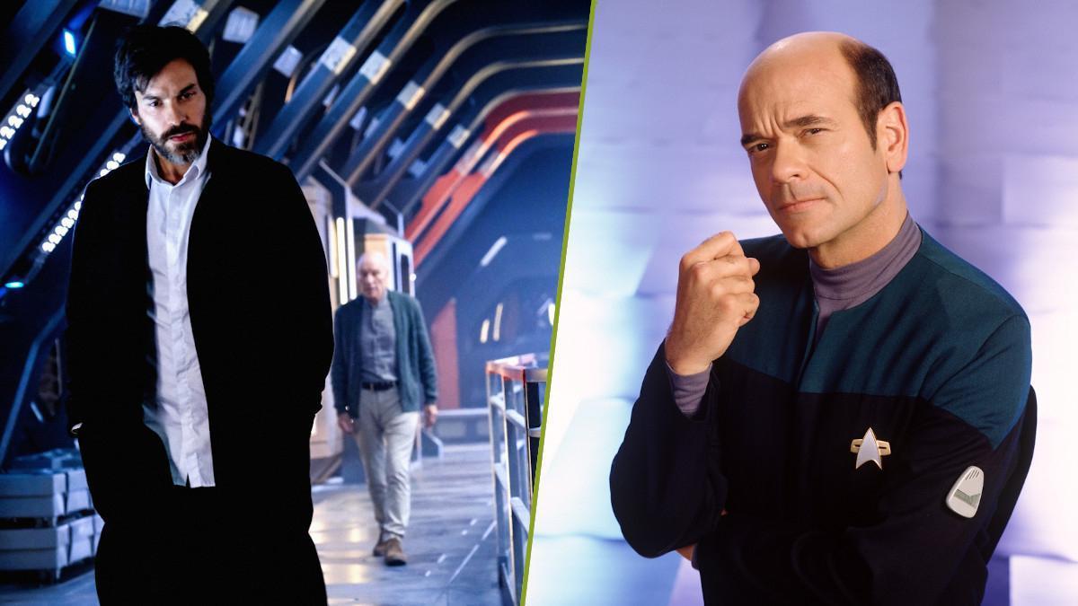 Star Trek Picard Robert Picardo Voyager Holograms