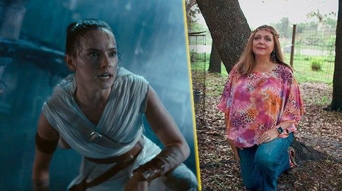 star-wars-actress-daisy-ridley-tiger-king-carole-baskin