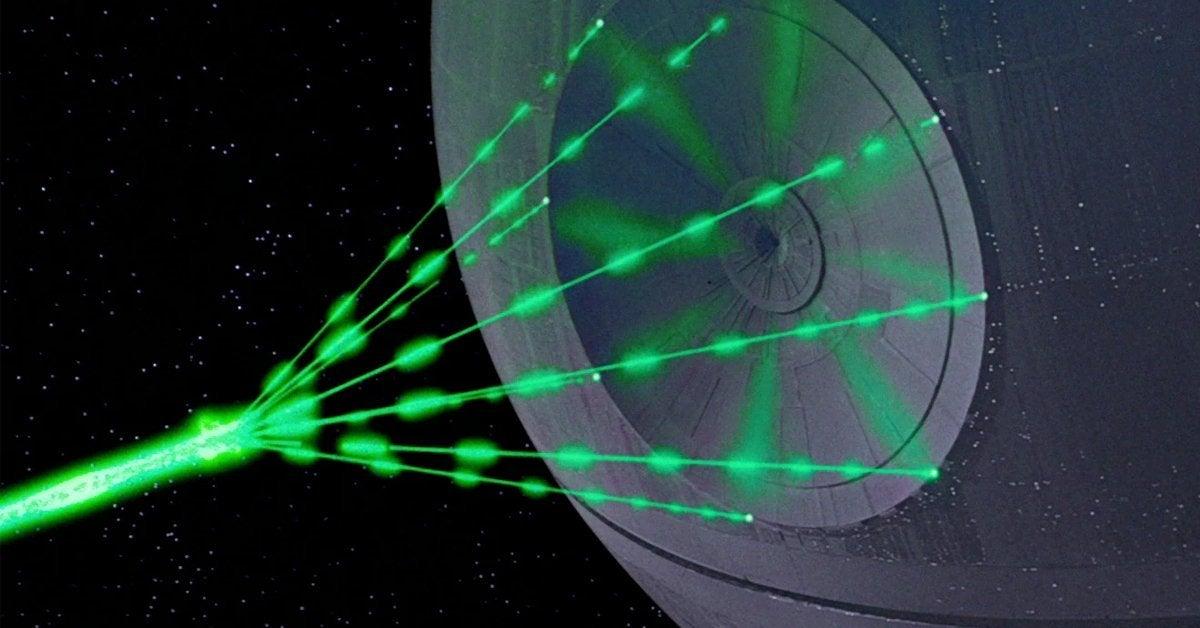star wars deathstar death star superlaser