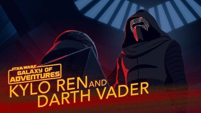 Star Wars Galaxy of Adventure Kylo Ren Darth Vader Legacy of Power