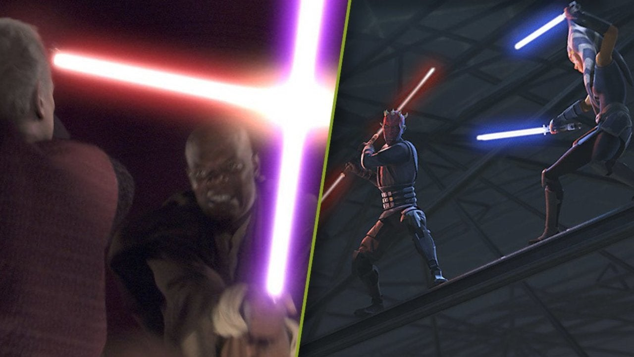 Star Wars The Clone Wars Fan Syncs Up Ahsoka Vs Maul Fight With Revenge Of The Sith
