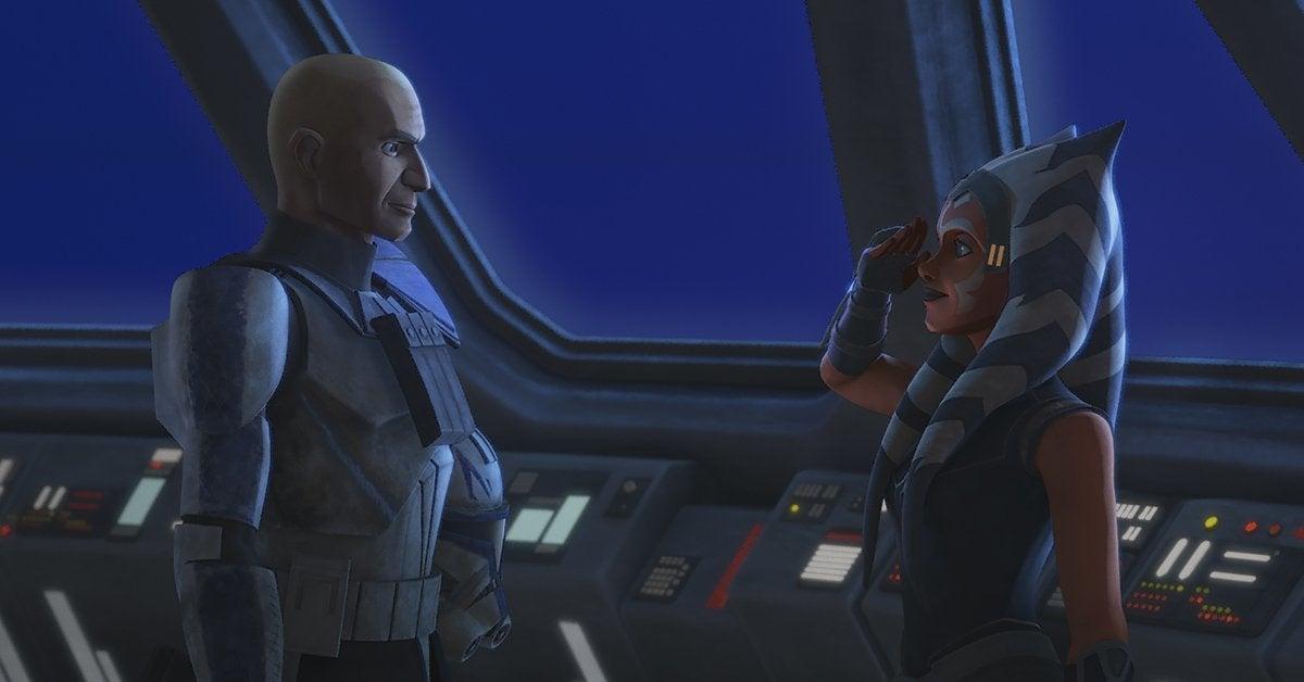 star wars the clone wars ahsoka tano captain rex