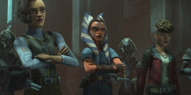 Star Wars: The Clone Wars Clip Sees Ahsoka Making a Surprising Discovery