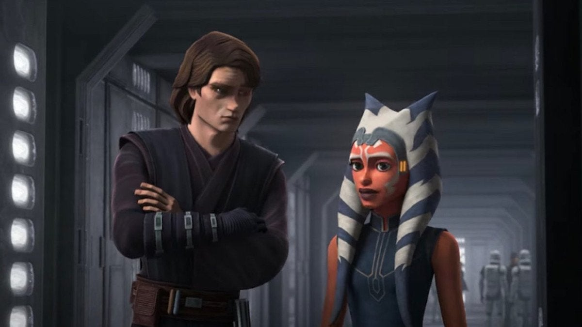 Star Wars The Clone Wars Anakin Ahsoka