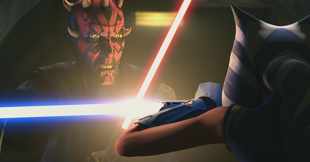 star wars the clone wars maul ahsoka