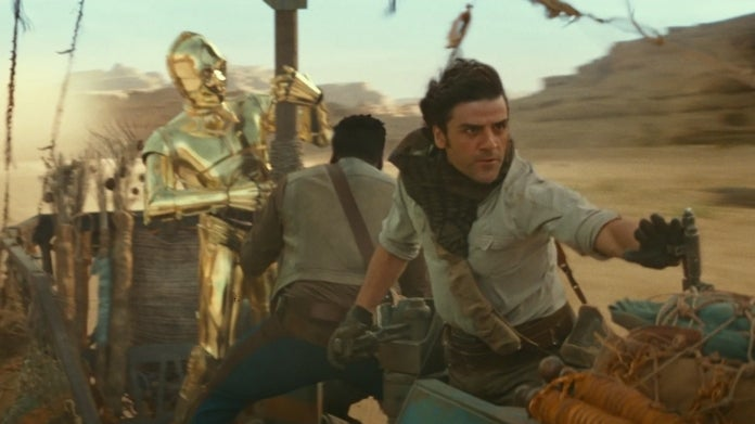 Star Wars The Rise of Skywalker C3PO Anthony Daniels Poe Oscar Isaac