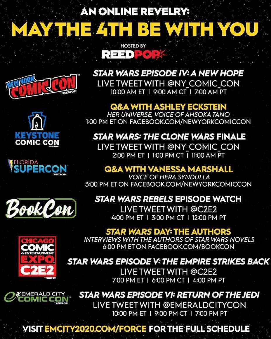 star wars virtual convention 2020