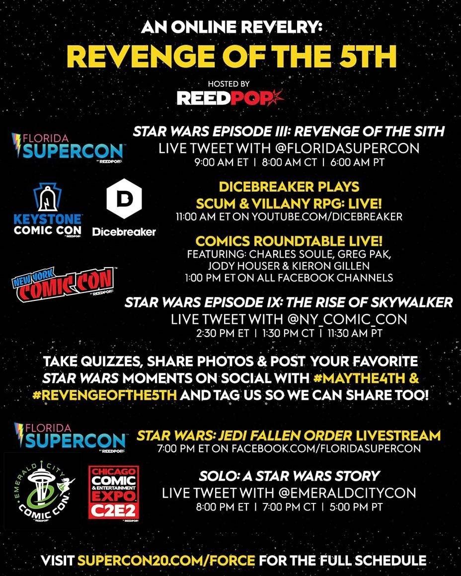 star wars virtual convention 2020 2