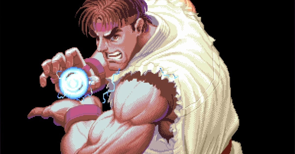 street fighter 2 ryu new cropped hed