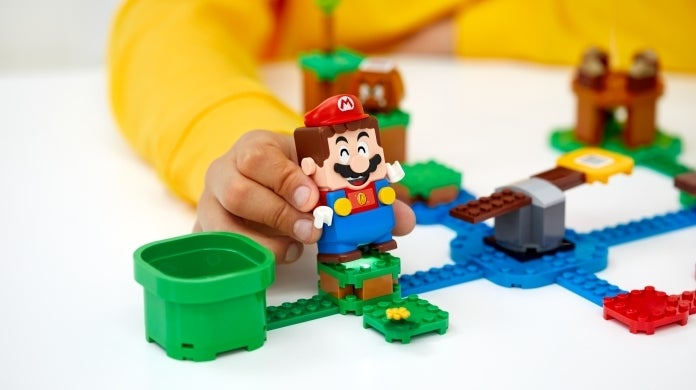 super mario lego cropped hed