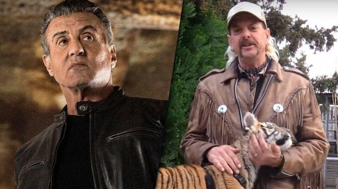 sylvester stallone joe exotic tiger king