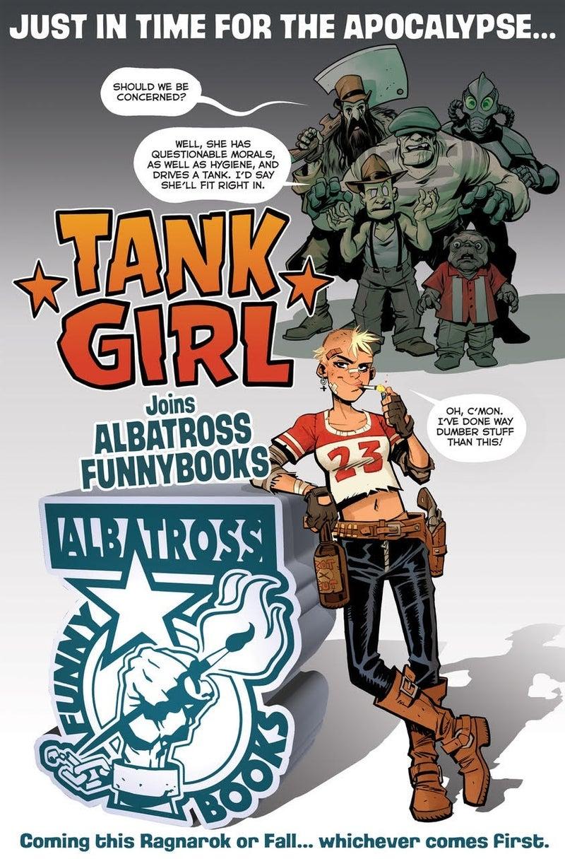 tank girl albatross funnybooks