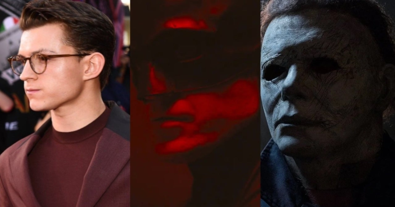 The Batman Now Up Against Tom Holland S Uncharted And Halloween
