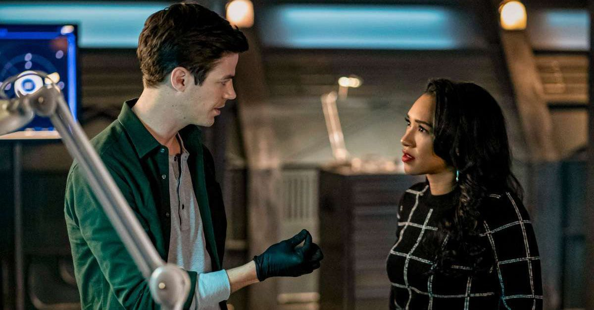 the flash barry and iris closer twist