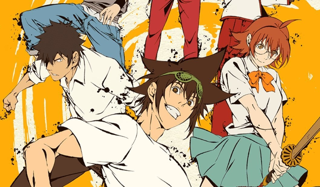 the god of high school anime