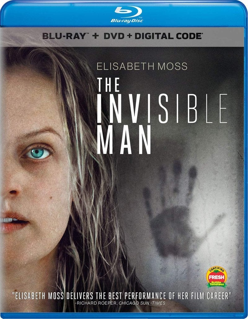 the invisible man movie blu ray 2020