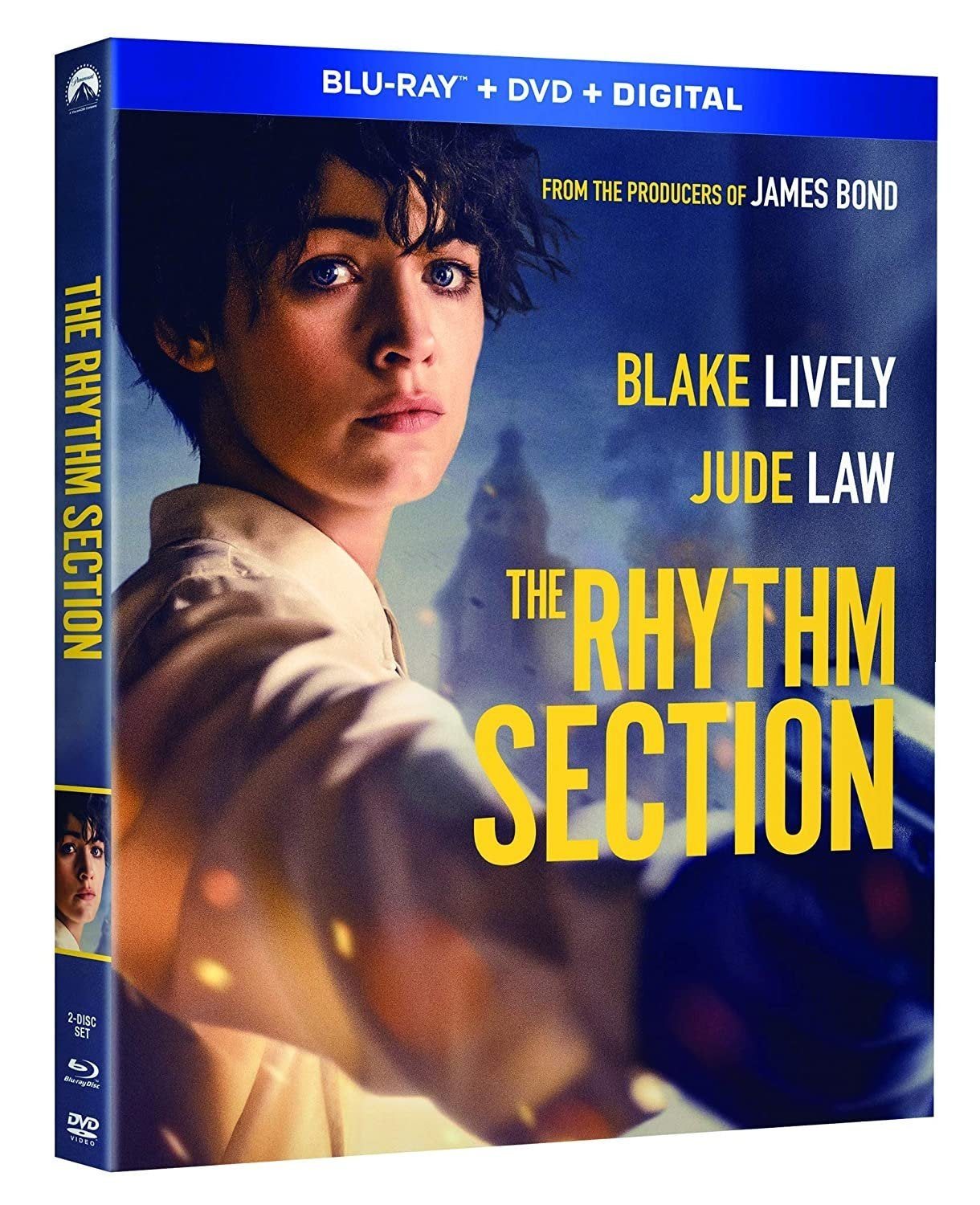 the rhythm section blu ray cover blake lively