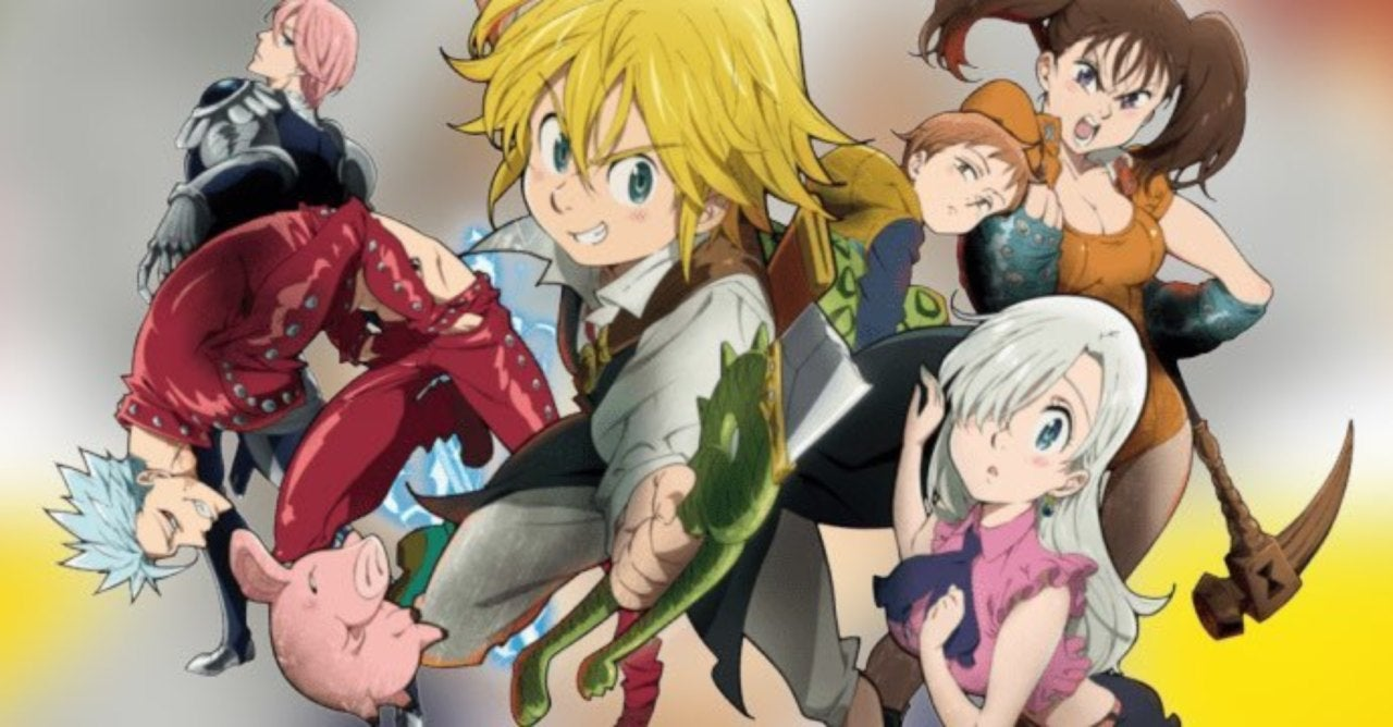 Get The Seven Deadly Sins Anime Characters And Their Sins PNG