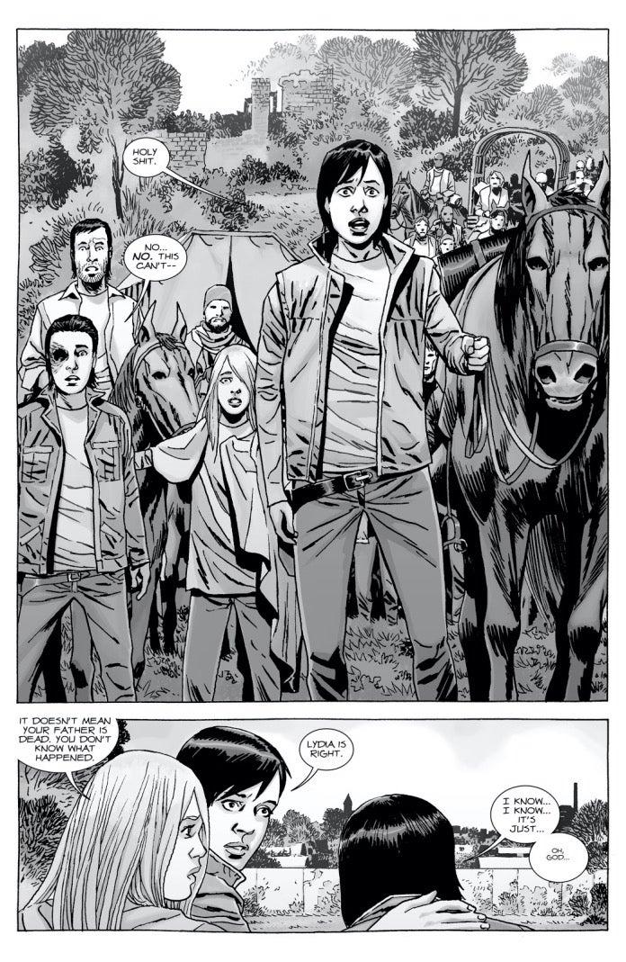 The Walking Dead 164 Maggie
