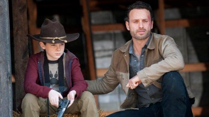 The Walking Dead Carl Rick Grimes Season 2