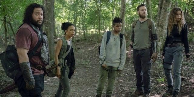The Walking Dead Cooper Andrews Lauren Ridloff Ross Marquand Angel Theory Nadia Hilker