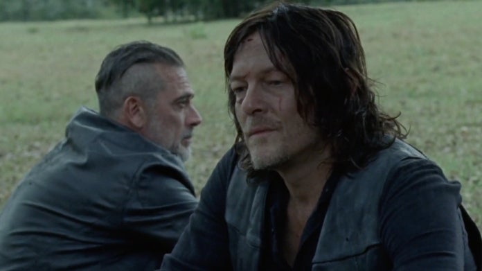 The Walking Dead Daryl Negan Norman Reedus Jeffrey Dean Morgan