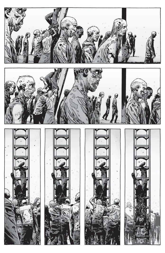 The Walking Dead Father Gabriel death comics