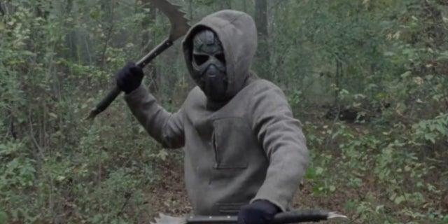 The Walking Dead iron mask