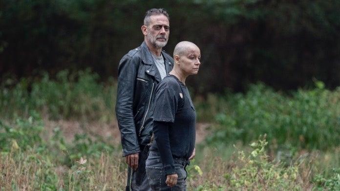 The Walking Dead Jeffrey Dean Morgan Negan Alpha Samantha Morton