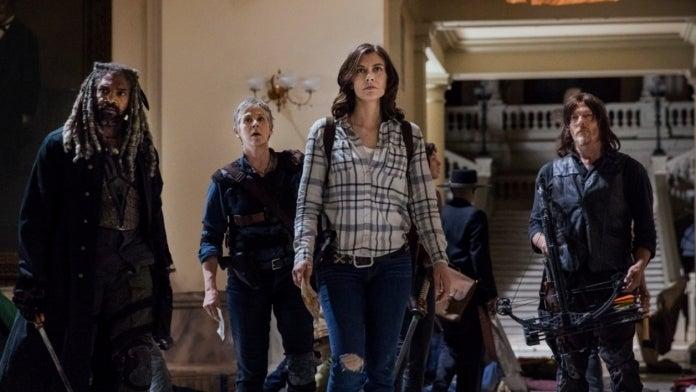 The Walking Dead Maggie Lauren Cohan Daryl Norman Reedus