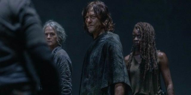 The Walking Dead Season 10 Daryl Carol Michonne