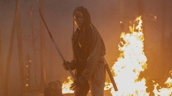 The Walking Dead Season 10 Michonne