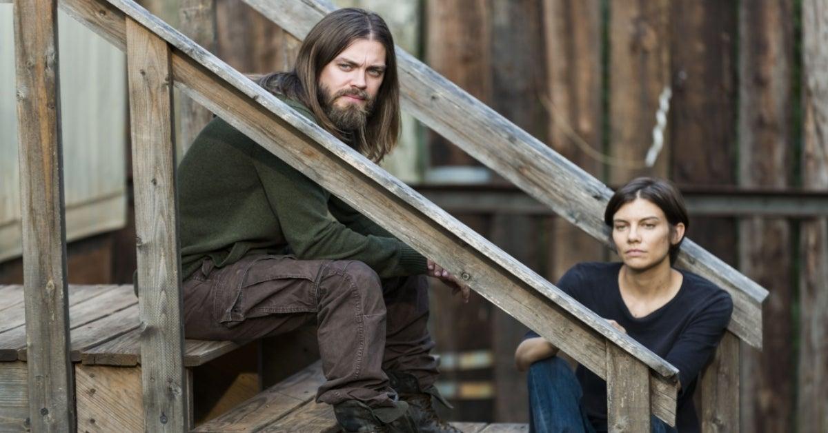 The Walking Dead Tom Payne Lauren Cohan