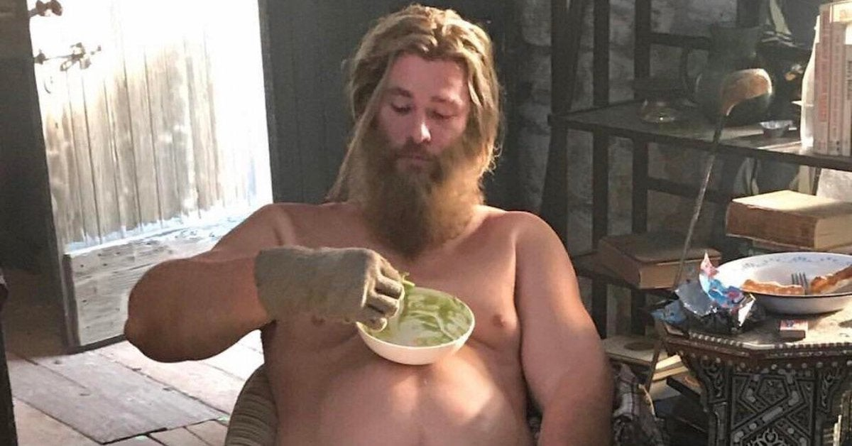 Thor 4 Peta Taika Waititi Fat Thor Vegan Weight Loss