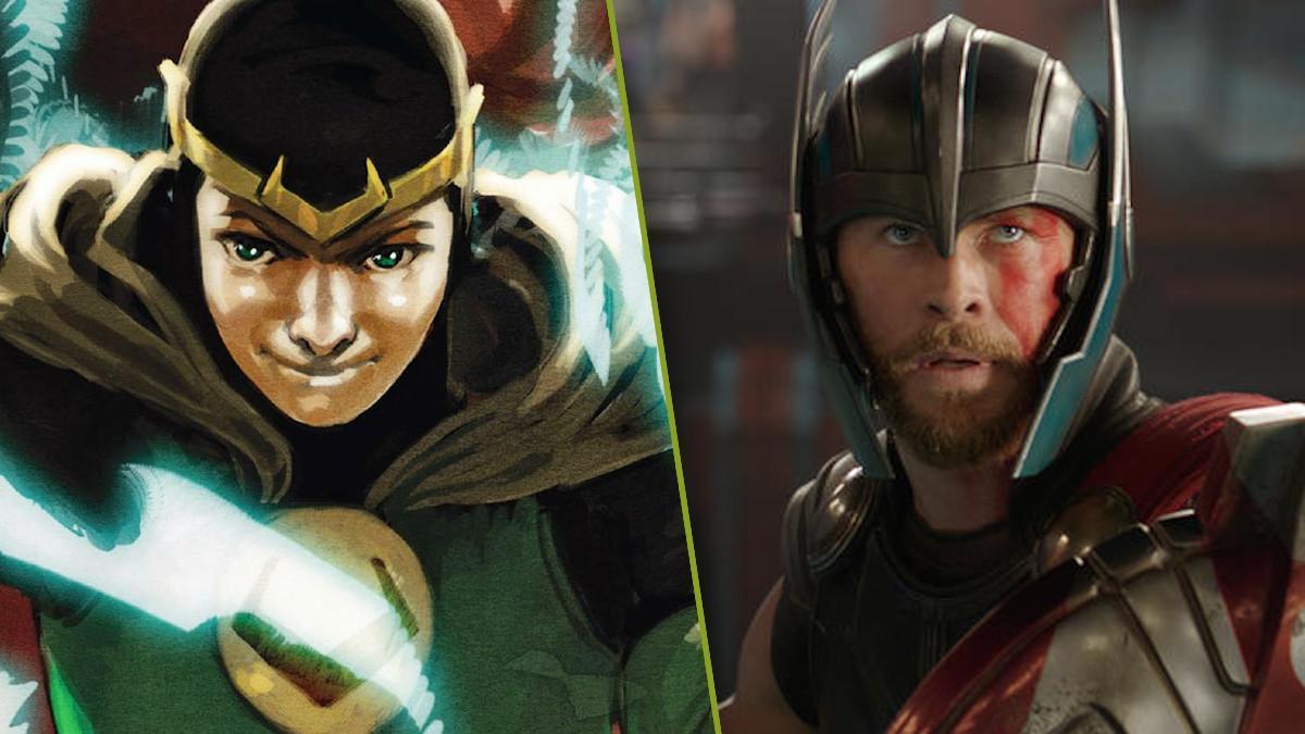 Thor Love and Thunder Kid Loki