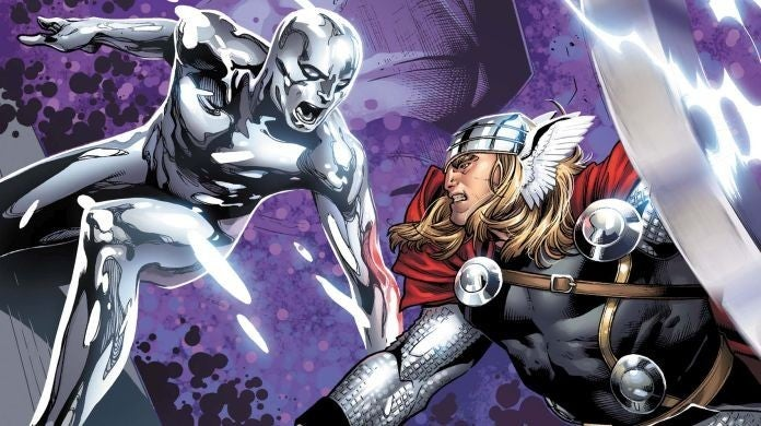 thor love and thunder silver surfer rumor