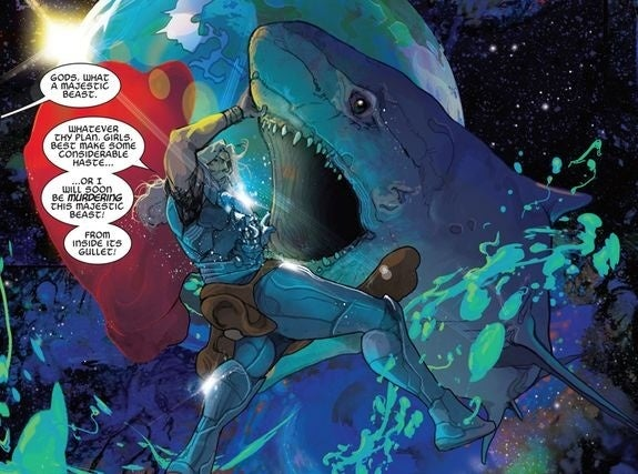 thor space sharks